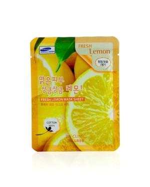 3W Clinic - Feuille de masque au citron frais - 1pc