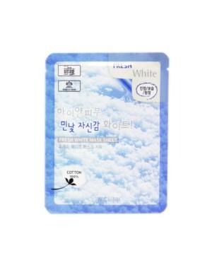 3W Clinic - Feuille de masque blanc frais - 1pc