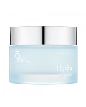 9wishes - Hydre, crème ampule - 50ml