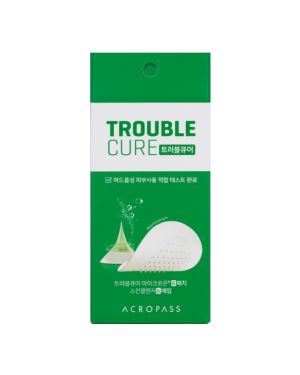 AcroPass - Trouble Cure Patch Microneedle - 6 Patches & 6 Cleansers
