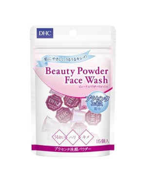 DHC - Beauty Powder Face Wash with Placenta Extract - 15pcs