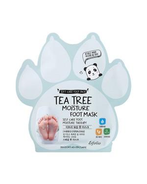 esfolio - Tea Tree Moisture Foot Mask - 10ml X 1pair
