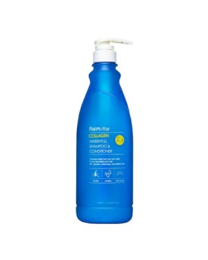 Farm Stay - Collagen Water Full Shampoo & Conditioner - 530ml