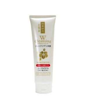 KUMANO COSME - Mousse nettoyante Shikioriori White Tsubaki Camellia Oil W - 190g