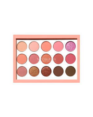 MACQUEEN - 1001 Tone-On-Tone palette d'ombres_Coral Edition - 0.5G*15