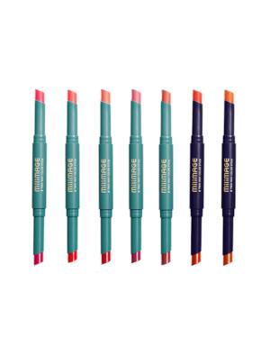 Milimage - Bâton de couleur bidirectionnel 2 - 1.8g + 1.8g