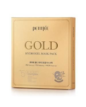 PETITFEE - Pack masque hydrogel - 5pcs - #Gold