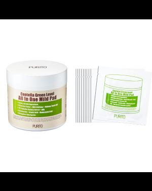 PURITO - Centella Green Level Tout en un Doux Tampon