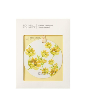 Roundaround - Dry Flower Sent Card (Small Country) - 1pc