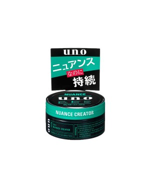 Shiseido - Uno Hair Wax - Nuance Creator - 80g