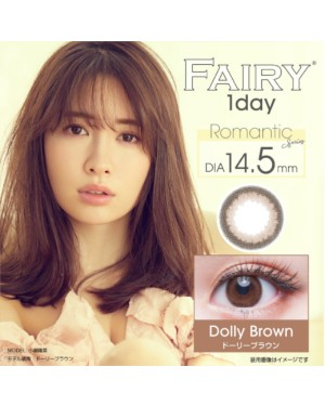 OLENS - Fairy 1 Day - Dolly Brown - 12pcs