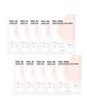 SOME BY MI - Real Masque de soin de barrière de peau d'escargot - 10pcs