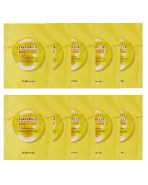 WELLDERMA - Calendula Calming Soon Masque - 10ml*10pcs