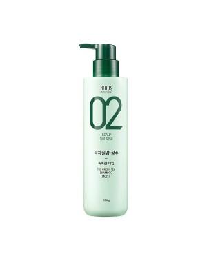AMOS - Le shampooing au thé vert - Moist - 500g