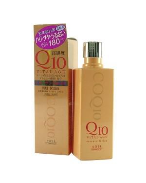 Kose - Vital Age Q10 Vital Age Q10 Essence Lotion - 180ml