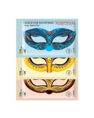 PUREDERM - Carnival Look Masque Gel pour les Yeux - 1pc