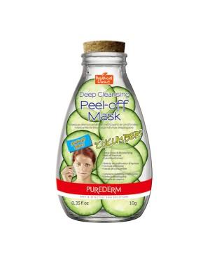 PUREDERM - Deep Cleansing Masque Peel-Off - 10g - Cucumber