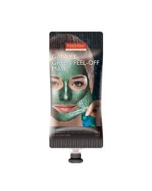 PUREDERM - Galaxy Peel-off Mask Green - Spout - 30g