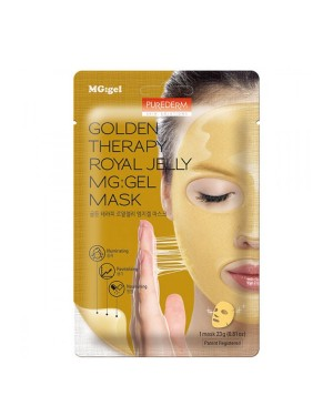 PUREDERM - Golden Therapy Royal Jelly MG: Masque gel - 1pc
