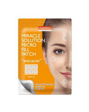 PUREDERM - Miracle Solution Patch Micro Fill - Anti-acne - 6 patches