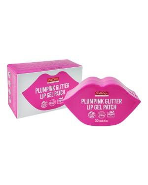 PUREDERM - Patch de gel pour les lèvres Plumpink Glitter - 30patches/pack