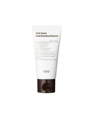 PURITO - From Green Deep Foaming Cleanser (New Formula) - 30ml