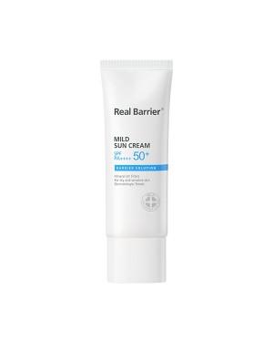 Real Barrier - Mild Sun Cream SPF50+ PA++++ - 40ml