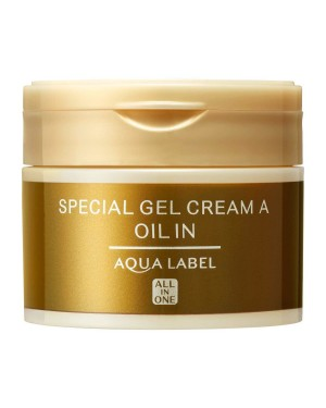 Shiseido - AQUA LABEL Gel crème spécial huile hydratante - 90g