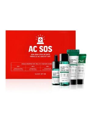 SOME BY MI - AHA-BHA-PHA 30 Days Miracle Acné SOS Kit
