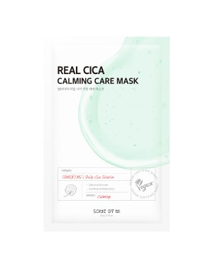SOME BY MI - Real Masque Soin Apaisant Cica - 1pc