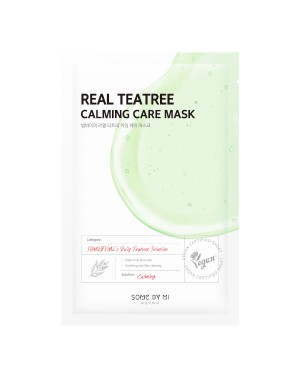 SOME BY MI - Real Masque de soin apaisant Teatree - 1pc