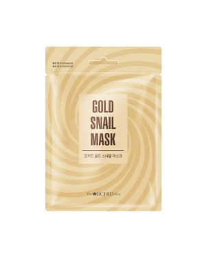 The ORCHID Skin - Gold Snail Mask - 25g X 1pc