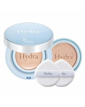 9wishes - Hydra Ampule Coussin SPF50 + PA +++ avec recharge