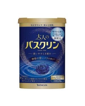 BATHCLIN - Premium Adult Bath Salt - Blue Rose - 600g