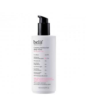 Belif - Creamy Moisturizer Deep Moist - 125ml