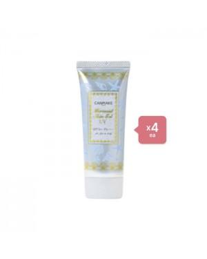 Canmake - Mermaid Skin Gel (4ea) Set - 02 White - Tiffany Blue