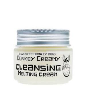 Elizavecca - Donkey Piggy Crème fondante lavante onctueuse à l'âne - 100g
