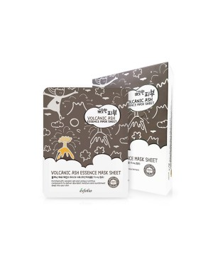 esfolio - Pure Skin Volcanic Ash Essence Mask Sheet - 25ml X 10pcs