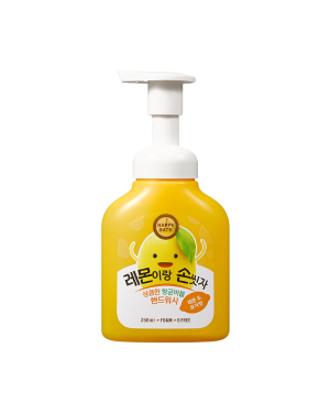 HAPPY BATH - Lavage à la main Bubble Hand Wash - Lemon - 250ml