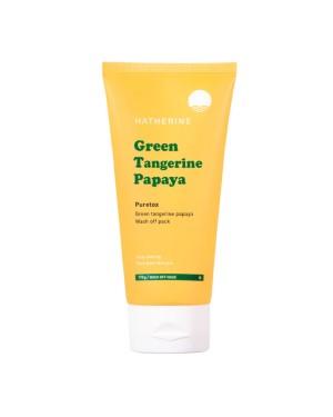 Hatherine - Green Tangerine Papaya Wash Off Pack - 170g