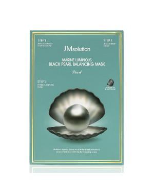 JM Solution - Marine Luminous Black Pearl Balancing Mask - 10pcs