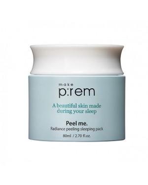 make p:rem - Peel me. Radiance peeling sleeping pack - 80ml