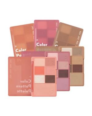 MEMEBOX - I'm MEME Color Pattern Palette - 1g*6ea, 3.4g*1ea