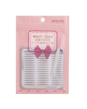 MINGXIER - Glue-Free Lace Double Eyelid Tape - Olives - 72sets