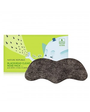 NATURE REPUBLIC - Blackhead Clear Nose Pack