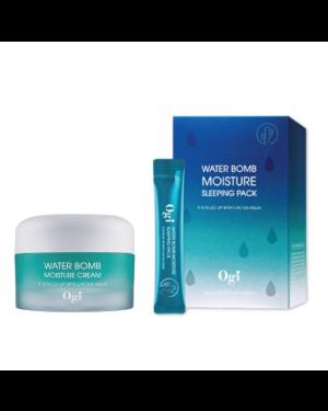 OGI - Water Bomb Moisture Cream + Sleeping Pack - 50ml + 20 pcs