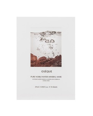 Oseque - Pure Noble Water Mineral Mask - 10pcs
