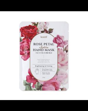 PETITFEE - Koelf Rose Petal Satin Hand Mask - 16g X 1pc