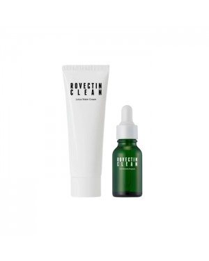 ROVECTIN - Clean Lotus Water Cream 60ml Special Set