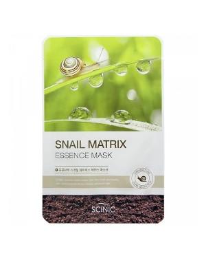 SCINIC - Masque Essence Matrice Escargot - 1pc